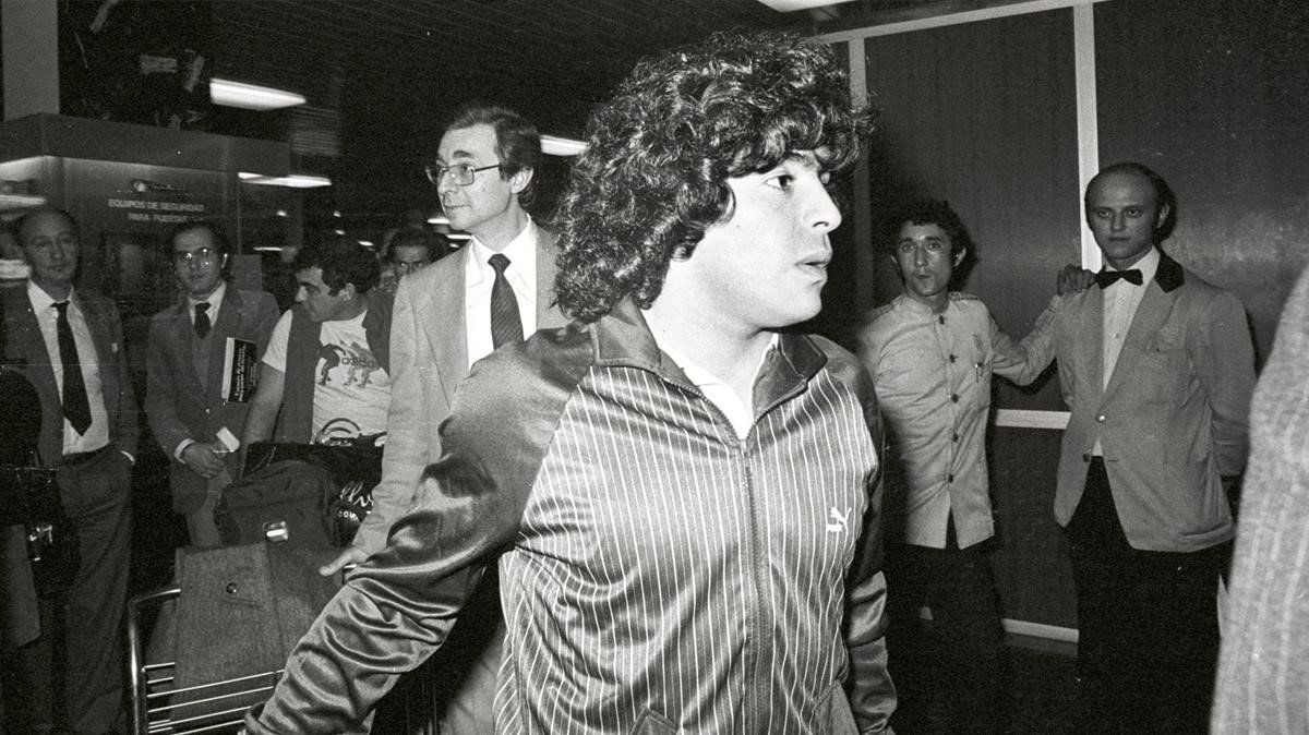 Maradona i Barcelona: els llocs de la ciutat que freqüentava l'astre argentí