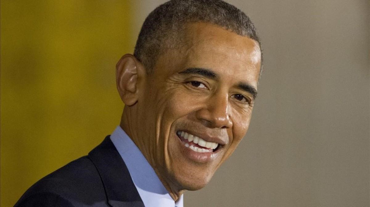El presidente de Estados Unidos, Barack Obama, este miércoles en la Casa Blanca.