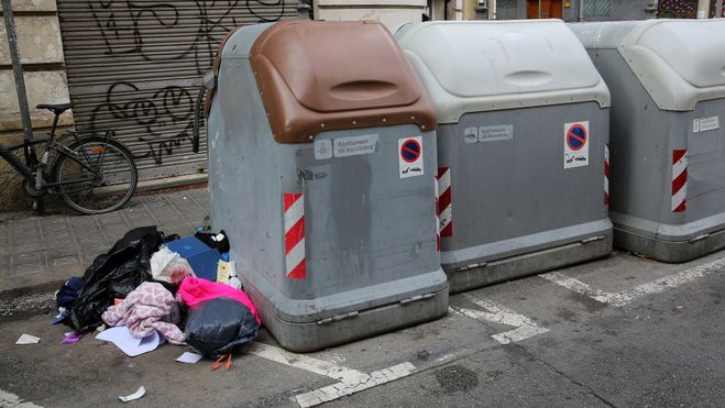 Plan para mejorar la limpieza de  Barcelona:  Sants-Montjuïc