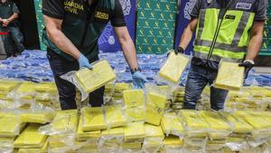 Intervenidos 3.800 kilos de cocaína en el puerto de València