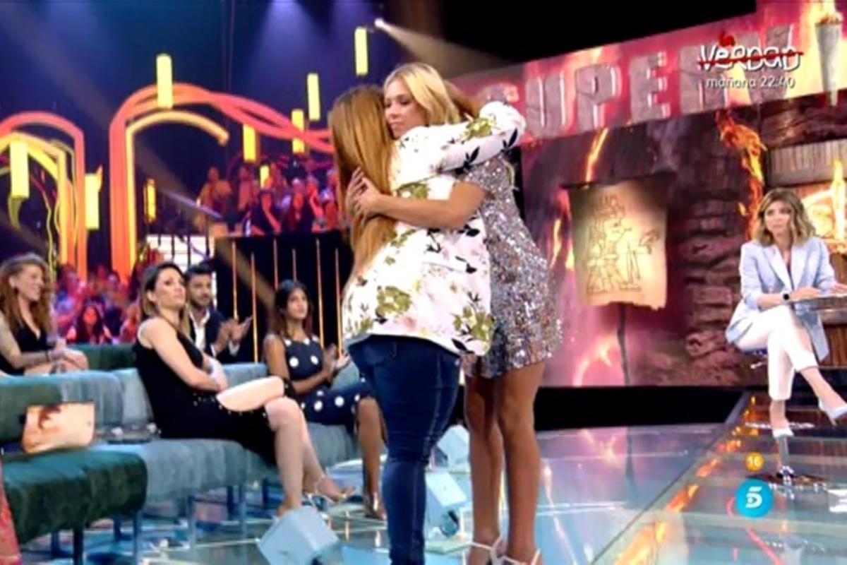 La inimaginable reconciliación entre Saray Montoya y Romina Malaspina en 'Supervivientes'