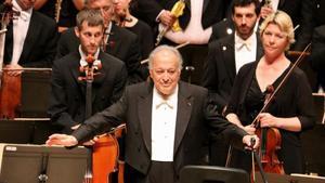 Mehta enlluerna en el seu adeu la Filharmònica d'Israel