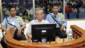 Duch, durante el juicio en diciembre del 2008.