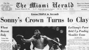 Cassius Clay vs. Sonny Liston: el combat que va canviar la història
