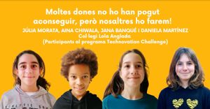 Fotograma del vídeo para reivindicar a las mujeres científicas.