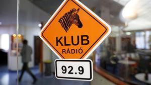 Los estudios de Klubradio en Budapest, este martes.