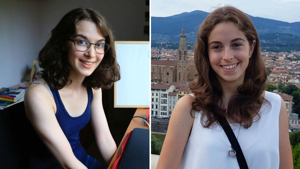 Un 9,9 en selectivitat: Claudia Valero (Tarragona) i Rosa Milian (Barcelona) aconsegueixen les millors notes del 2018