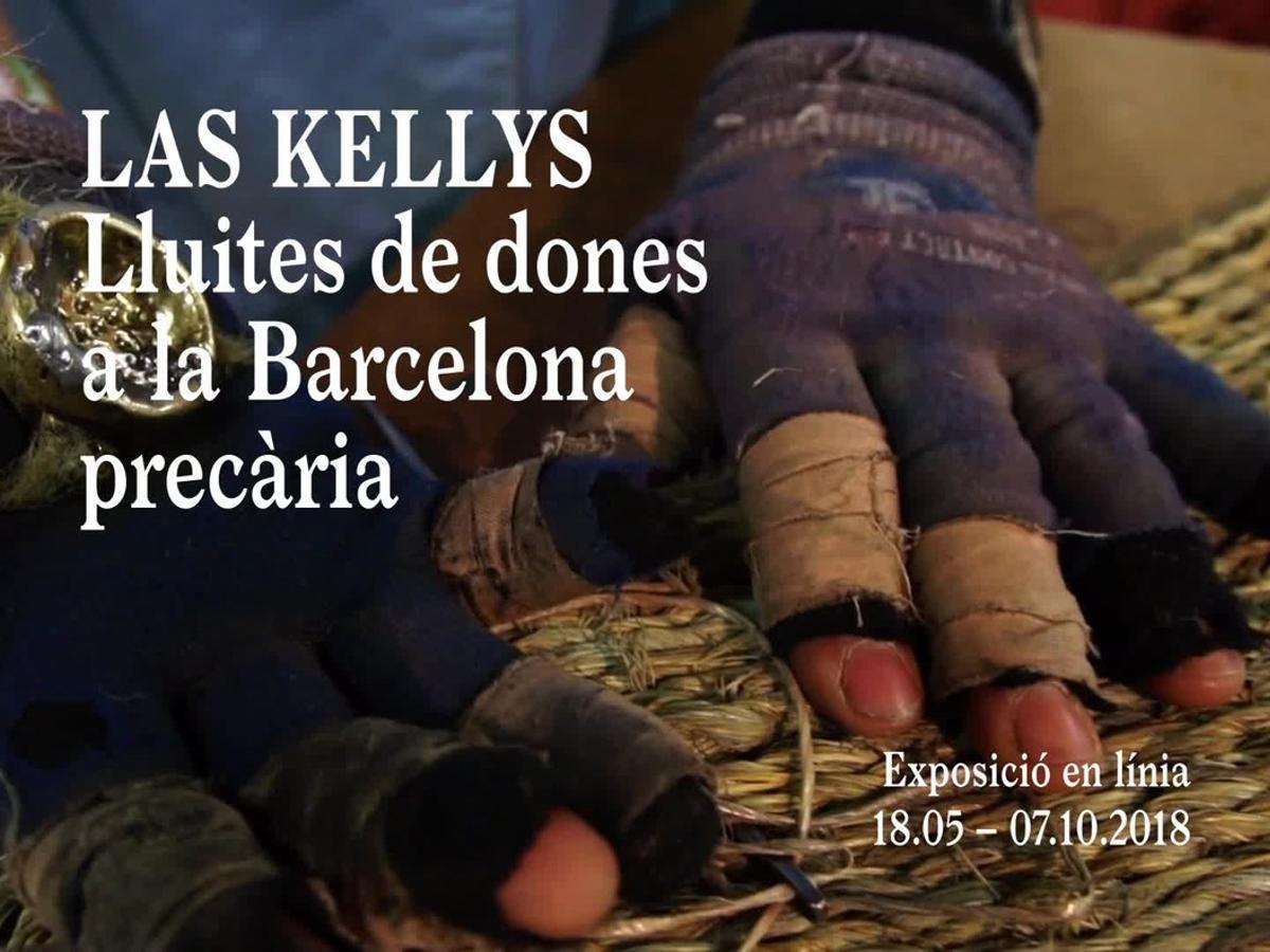 Les 'kellys' porten la seva lluita contra la precarietat laboral a la Virreina