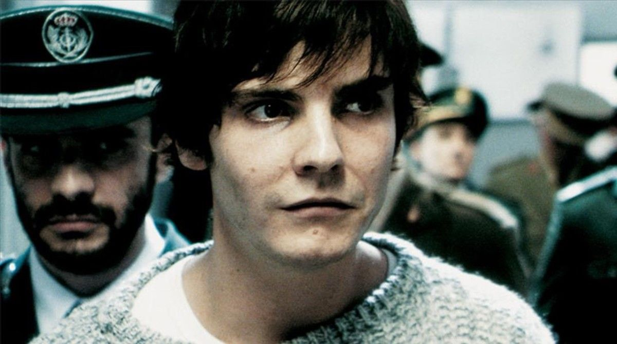 Daniel Brühl, en la película 'Salvador (Puig Antich)'.
