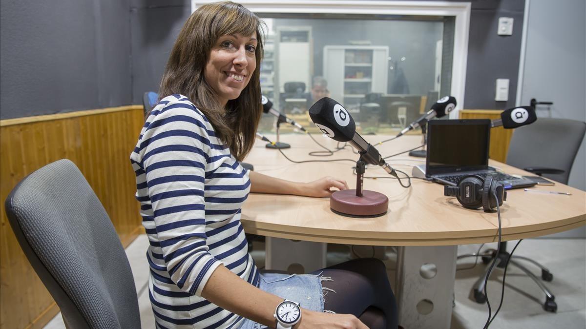 Jessica Crespo,presentadora y codirectora del magacinAl Ras.