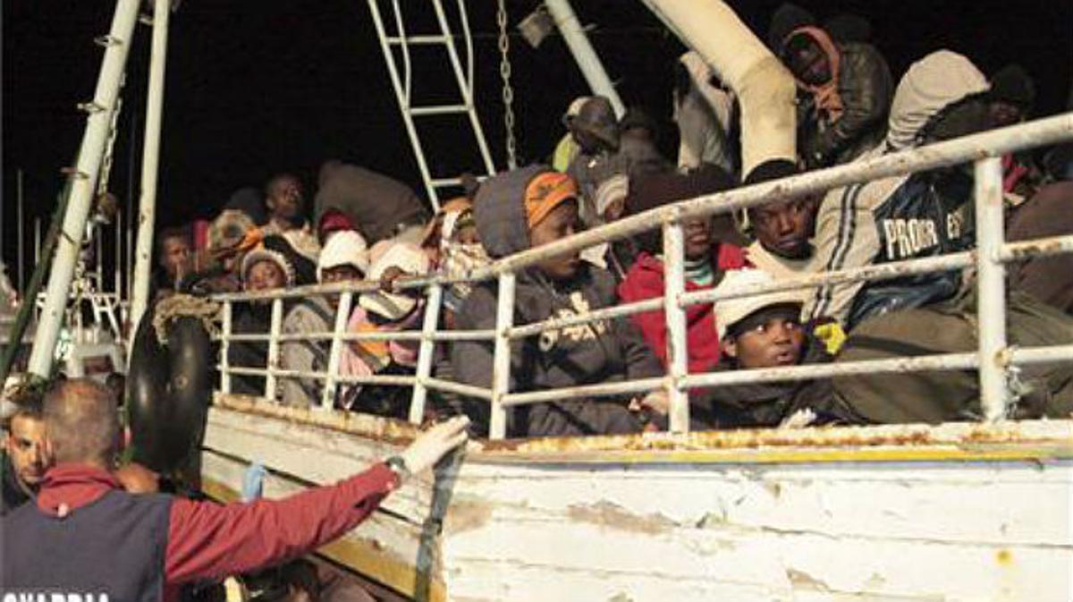 Imágenes de la tragedia de Lampedusa