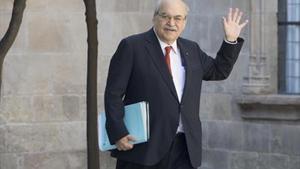 El conseller Andreu Mas-Colell.