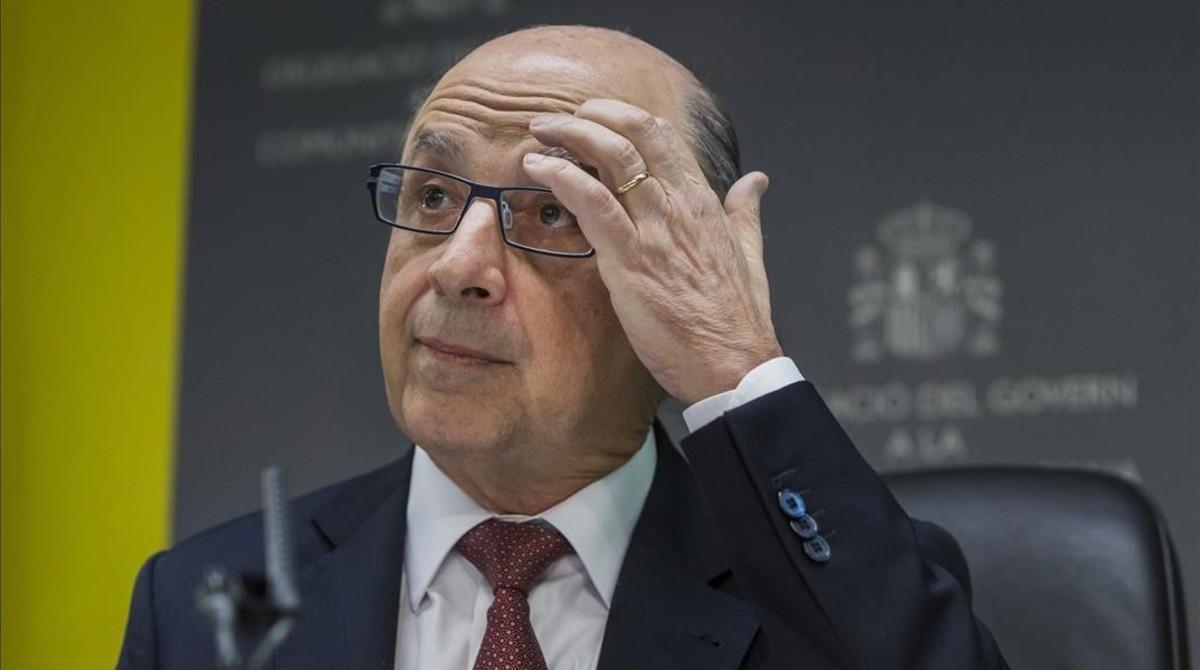 El ministro de Hacienda en funciones, Cristobal Montoro.