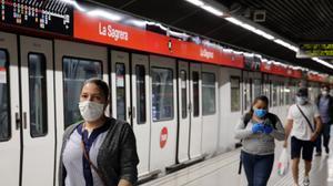 El transport públic tanca el semestre amb el 40% menys de viatges respecte al 2019