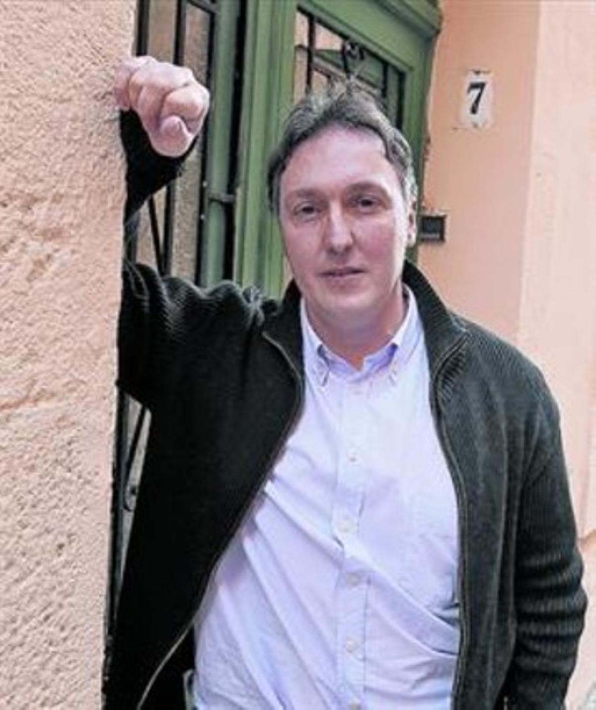 El escritor barcelonés Carlos Zanón.