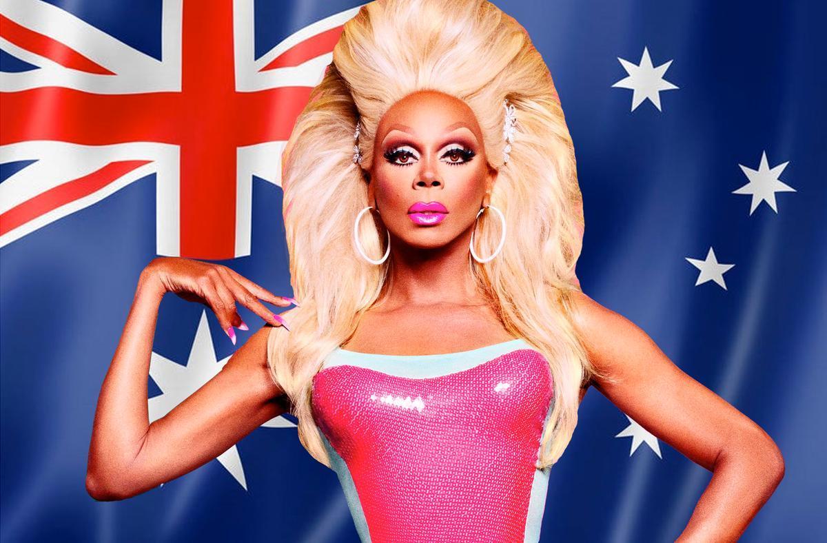 Imagen promocional de 'Drag Race' Asutralia
