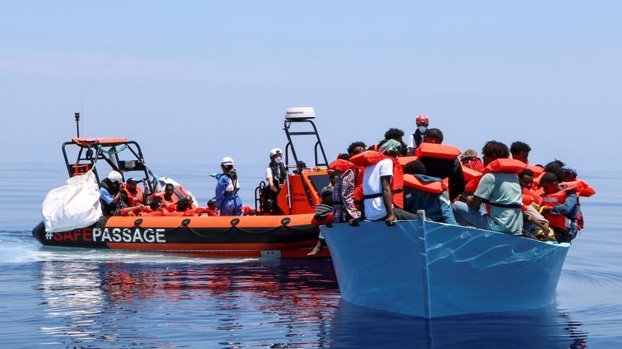 Túnez rescata a más de 110 migrantes en el Mediterráneo este fin de semana