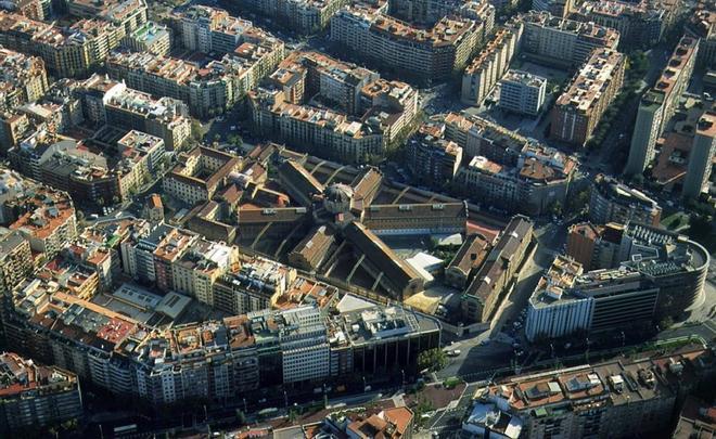 Vista aérea de la Modelo, el 18 de noviembre del 2003.