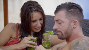 Fani y Rubén en 'La isla de las tentaciones'.