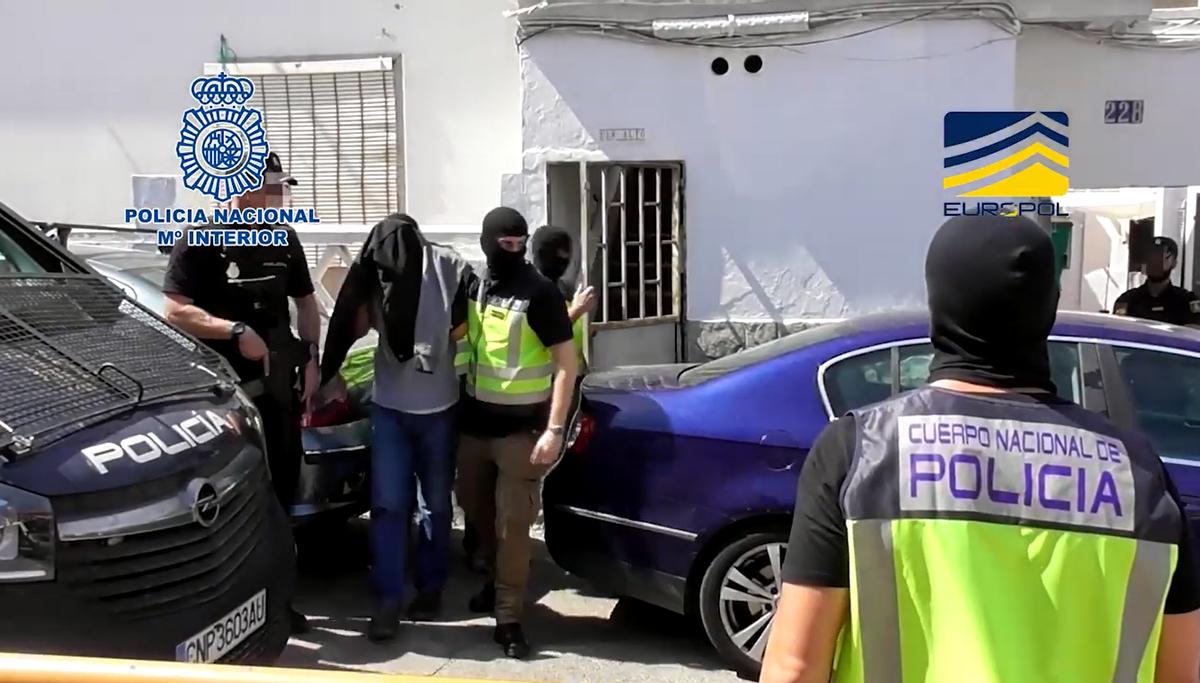 Detención miembro de Daesh Nabil E.A. en Algeciras en 2019