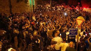 Israel retira les mesures de seguretat de l'Esplanada de les Mesquites