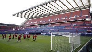 El estadio de El Sadar, escenario de la historia de Osasuna.