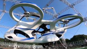 La empresa japonesa NEC ha presentado su coche volador del futuro.