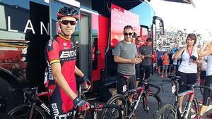 Samuel Sánchez, en una imagen de la Vuelta 2016.