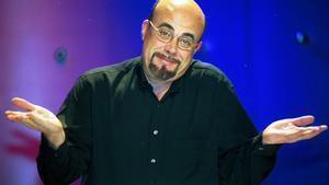 Constantino Romero, en el programa 'Una vez en la vida', en el 2001.