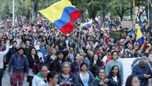 Dos policies detinguts per la mort d'un jove en les protestes colombianes