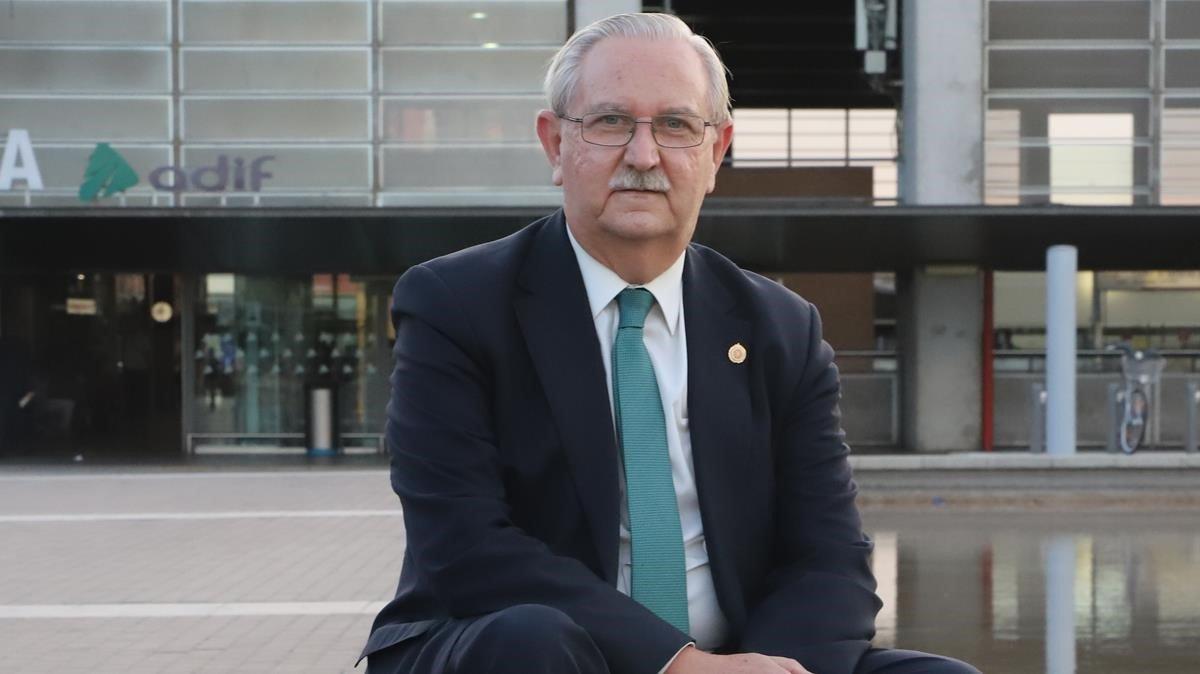 El presidente de la Organización Médica Colegial, Serafín Romero.