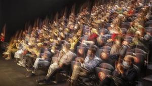 Público en un teatro.