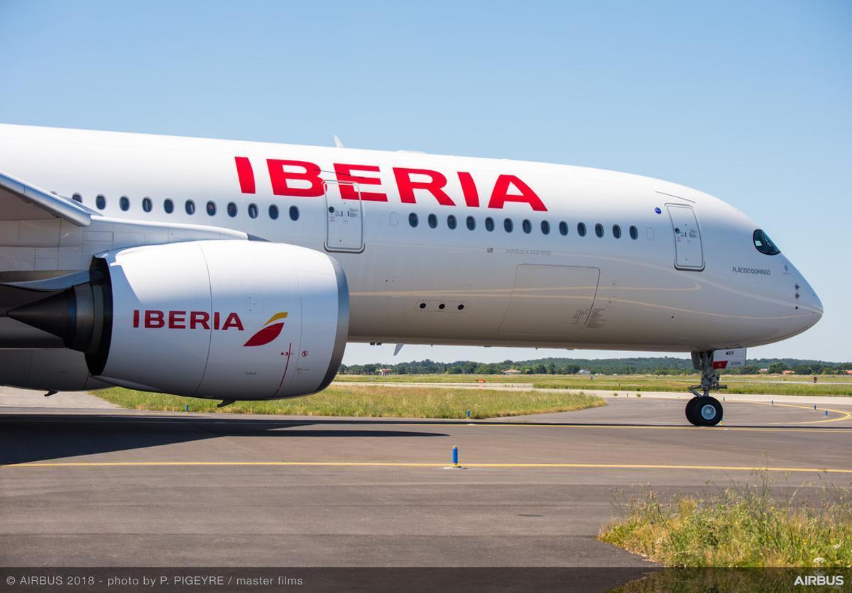 El nuevo Iberia 350-900.