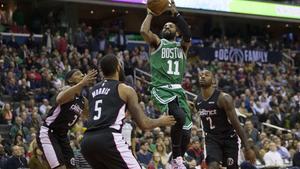 Kyrie Irving tuvo 38 tantos para los Celtics de Boston.