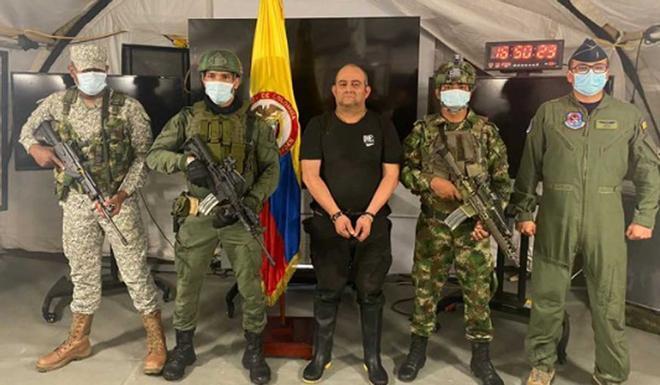 Cae 'Otoniel', el narcotraficante más poderoso de Colombia