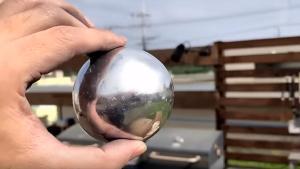 El nou art dels mil·lennistes del Japó: polir boles d'alumini