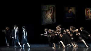 Un momento de la representación de 'La bailarina de Picasso'