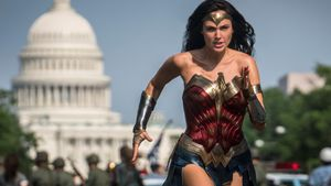 Gal Gadot, en un fotograma de 'Wonder Woman 1984'