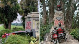 España protesta por los ataques a las estatuas de Cervantes y Junípero Serra en EEUU