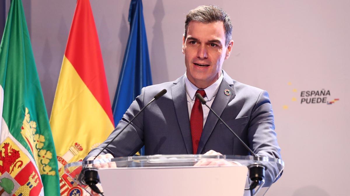 Sánchez considera inadmisible la violencia en las protestas por Pablo Hasél.