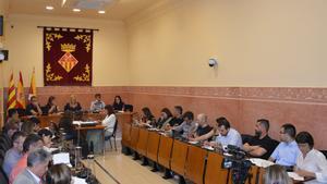 Sesión plenaria del Ayuntamiento de Rubí.