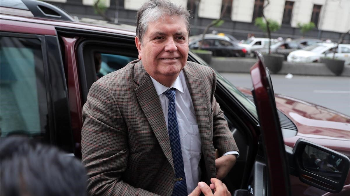 Alan García, en una foto de archivo