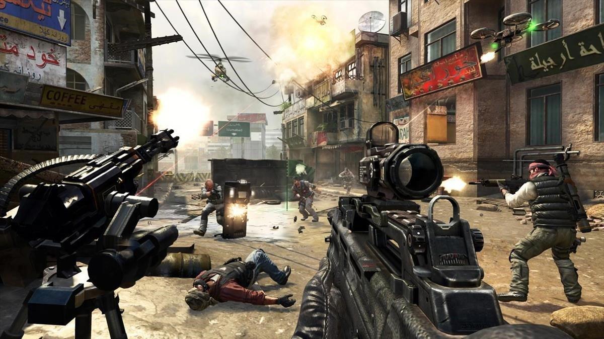 Una imagen del videojuego 'Call of duty'.