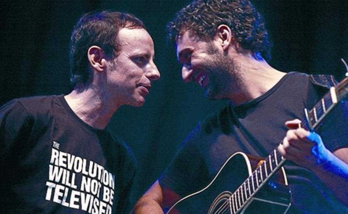 Lluís Gavaldà (izquierda) y Joan Enric Barceló, de Els Amics de les Arts.