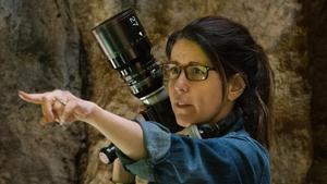 La directora Patty Jenkins, en el 'set' de rodaje de 'Wonder Woman'.