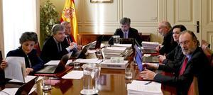 Reunión del CGPJen Madrid.