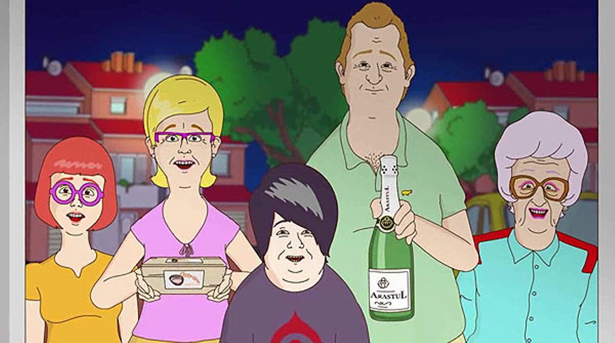 Familia.cat, la nueva serie de animación de TV-3.