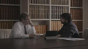 Jordi Évole i Juan Luis Cebrián, cara a cara