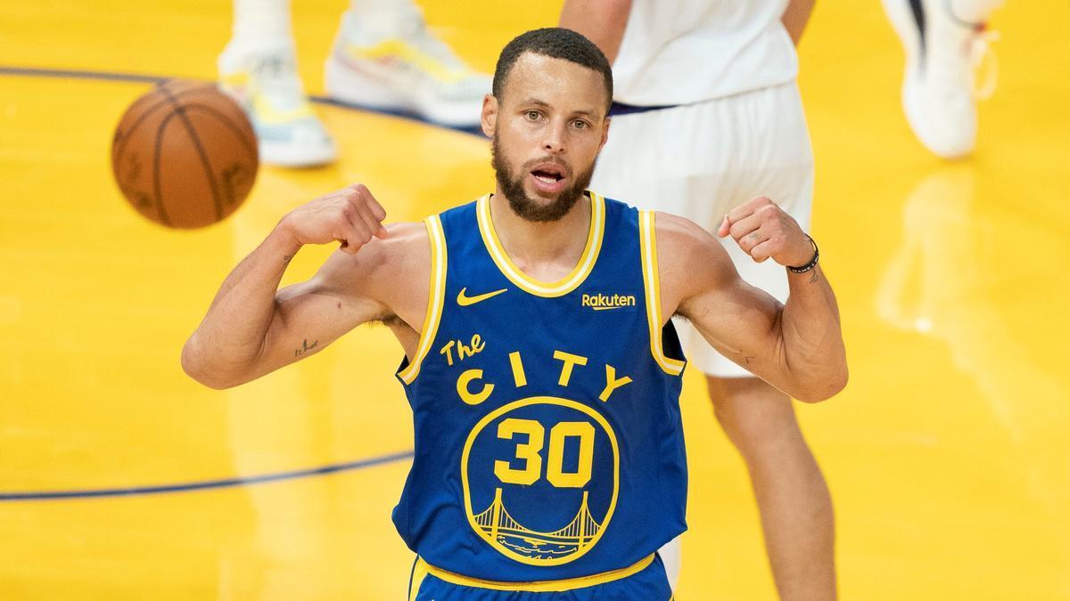 Stephen Curry, la estrella de Golden State Warriors.
