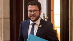 El vicepresidente del Govern y 'conseller' de Economia, Pere Aragonès.